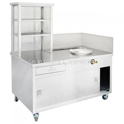 Stainless Steel Mee Goreng Stall
