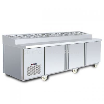 Counter Chiller with Salad Bar (5', 6', 7', 8')