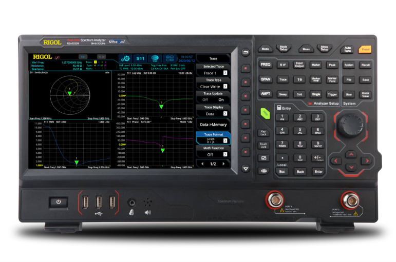 RIGOL RSA5032N - 3.2 GHz Real Time Spectrum Analyzer with Vector Network Analysis