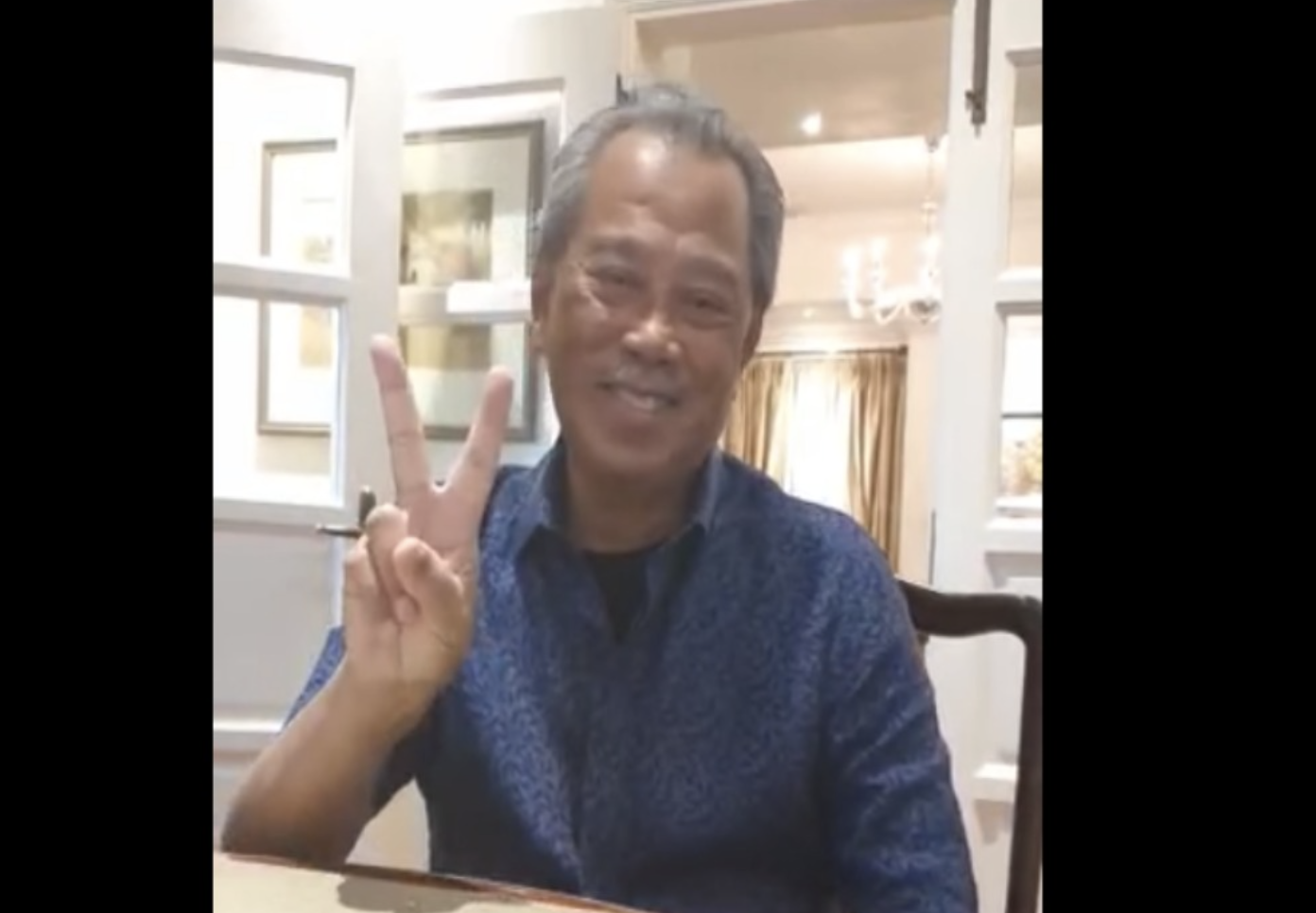 """I'm fine, vaccine is safe,"" says Muhyiddin a day after inoculation"