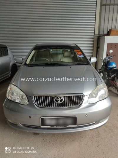 TOYOTA ALTIS STEERING WHEEL REPLACE MICRO LEATHER