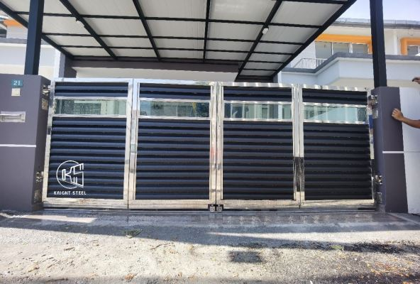 Folding Gate Kediaman Prima Kampar, Perak