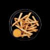 "McCain SureCrisp Skin-On Regular Fries 3/8"" ( MCF03787 ) 5lbs Fries"