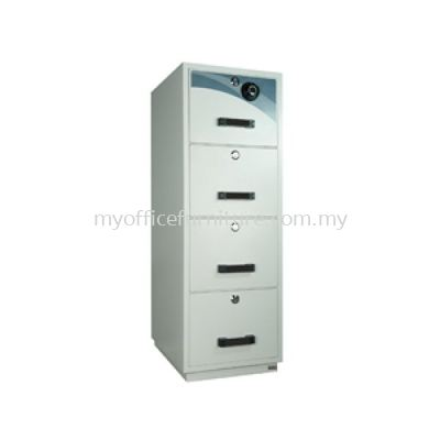 FIRE RESISTANT CABINET 4 DRAWER ~INDIVIDUAL LOCK(RM 2,599.00/UNIT)