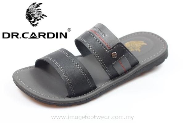 Dr. Cardin Men Slipper -DC-7720- BLACK Colour
