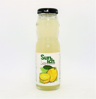 Sun Ich Sour Lemonade Juice Glass btl 200ml