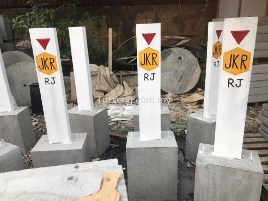 Concrete Boundary Marker