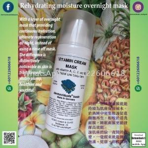 Rehydrating moisture overnight mask