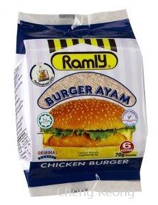 Ramly Chicken Burger