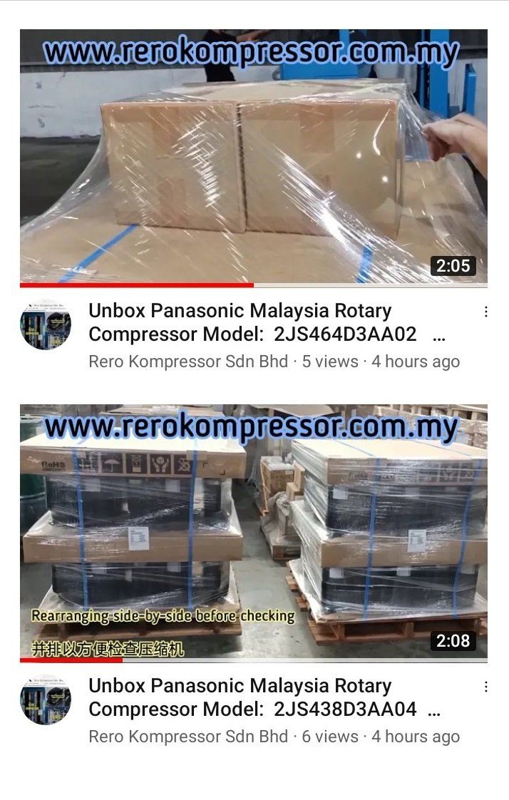 LAUNCHED RERO KOMPRESSOR'S YOUTUBE CHANNEL