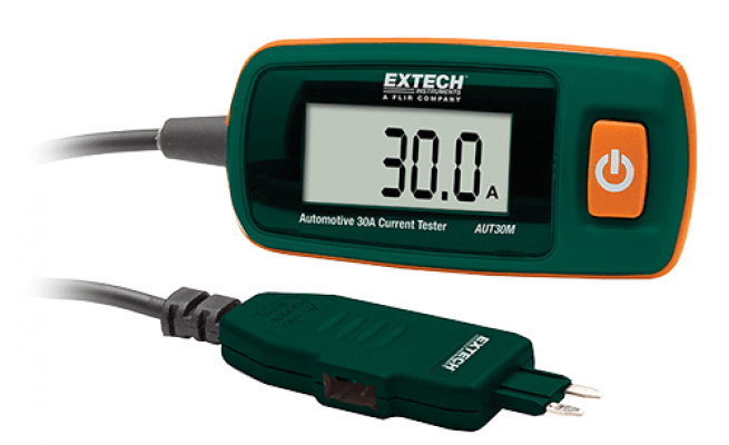 Automotive Current, Circuit, and Relay Testers - Extech AUT30M
