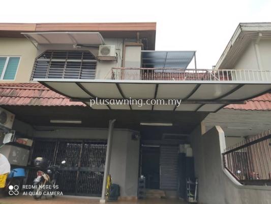 Replace Alumbond Composite Panel @Jalan SS 25/29,Taman Mayang, Petaling Jaya, Selangor