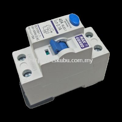 56207180  ELCB (40A 2P 0.1A) - MAXGUARD