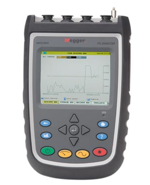 MEGGER MPQ1000 Handheld Power Quality Analyzer