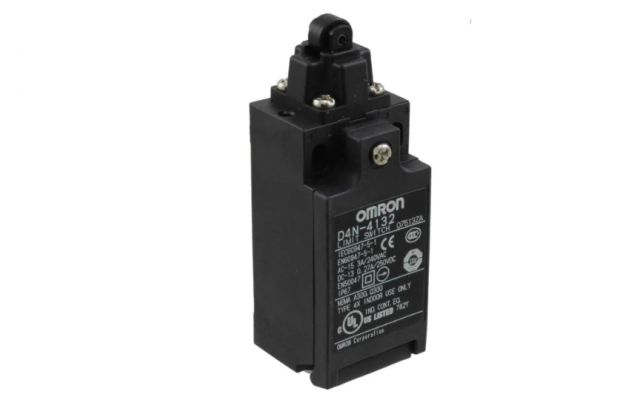 OMRON D4N Popular Safety Limit Switches Providing a Full Lineup Conforming to International Standard