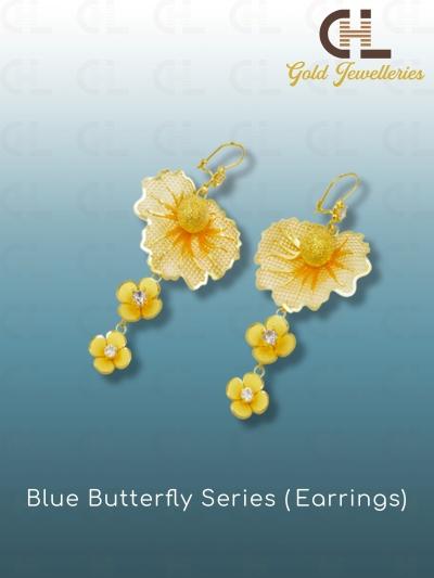 BLUE BUTTERFLY SERIES (EARRINGS)