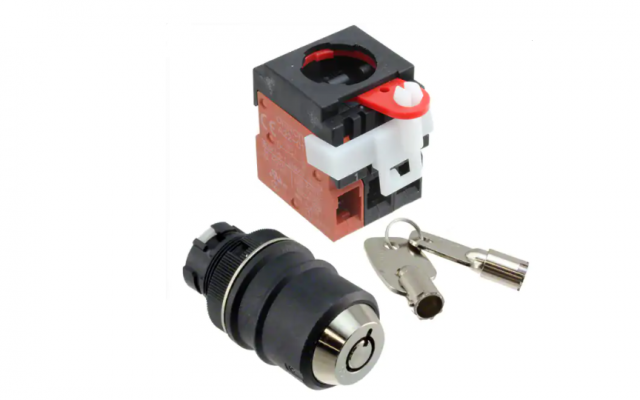OMRON A22TK  Key-type Selector Switch with Direct Opening Mechanism