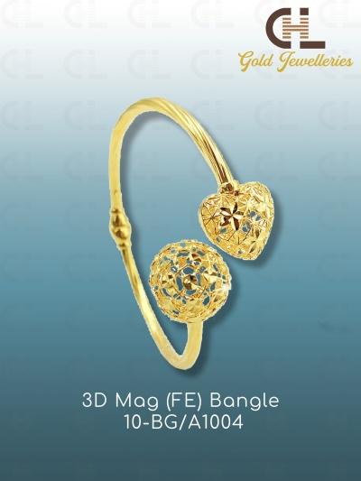 3D MAG(FE) BANGLE 10-BG/A 1004