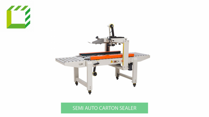 Semi Auto Carton Sealer Machine (China)