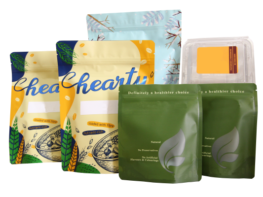 Pouch Labelling