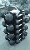 DUMBBELL RACK -HEXAGON 10 PAIRS Free Weights Weight Lifting n Accessory