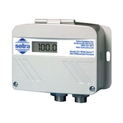 SETRA Model 231 Wet-to-Wet Differential, Multi-Configurable Pressure Transducer