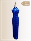 QP022 Cut-in Maxi Qipao Maxi Dresses Sales & Deals