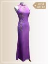 QP001 Cut-in Maxi Qipao  Maxi Dresses Sales & Deals