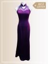 QP002 Cut-in Maxi Qipao Maxi Dresses Sales & Deals