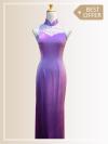 QP003 Cut-in Maxi Qipao Maxi Dresses Sales & Deals