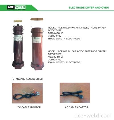 AC/DC Electrode Dryer AC/DC Type