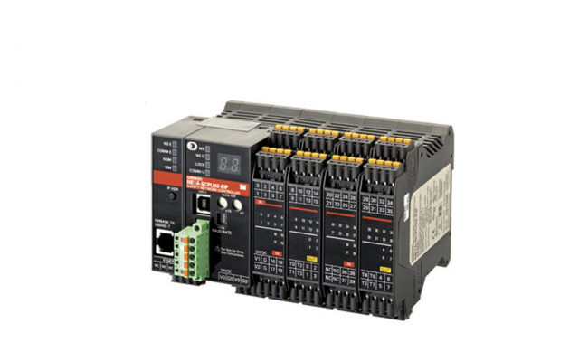 OMRON NE1A-SCPU0[]-EIP Visualizes the Safety System by Directly Connecting EtherNet/IP of the SYSMAC