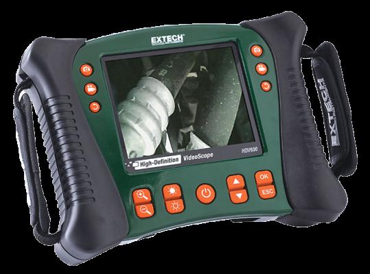Industrial HDV-Series Borescope Cameras - Extech HDV600