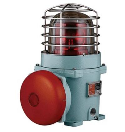 SEBA Explosion Proof Bulb Revolving Signal Beacon & Alarm Bell Combinations / Hazardous Area Combined Audible & Visual Alarm Max.95dB