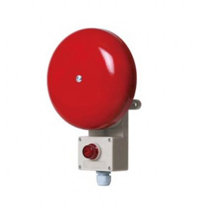 SAB200 Heavy Duty Alarm Bell & Beacon Combinations for Marine and Heavy Industrial Applications  Weatherproof Beacon Sounder / Audible & Visual Alarm Max.95dB