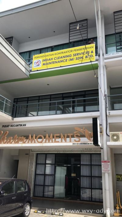 INDAH CLEANING SERVICES & MAINTENANCE (M) SDN. BHD. Polycarbonate Signage