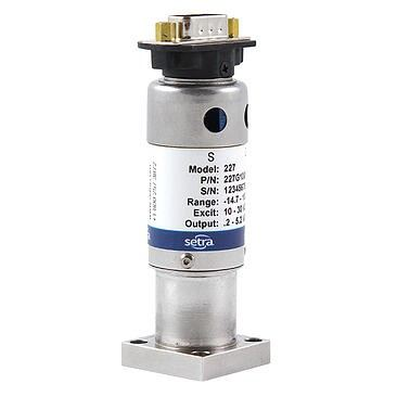 SETRA Product Overview Setra's Model 227 transducer is designed for high density, modular block gas
