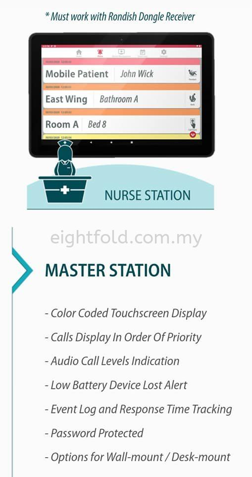 Nexus Nurse Call System - Simple, low cost, durable and meet requirements