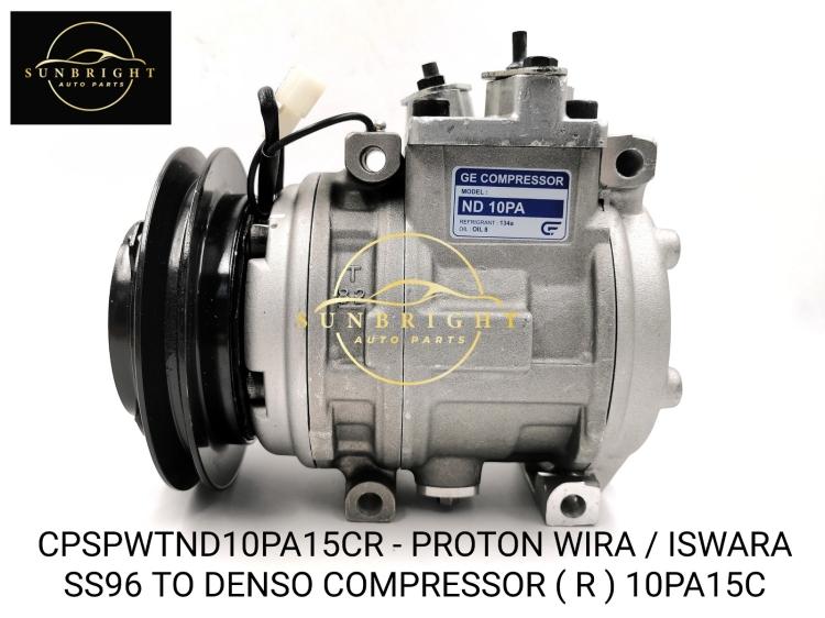CPSPWTND10PA15CR - PROTON WIRA / ISWARA SS96 TO DENSO COMPRESSOR ( R ) 10PA15C
