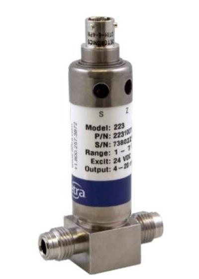 SETRA Model 223 Flow-Through Pressure Transducer