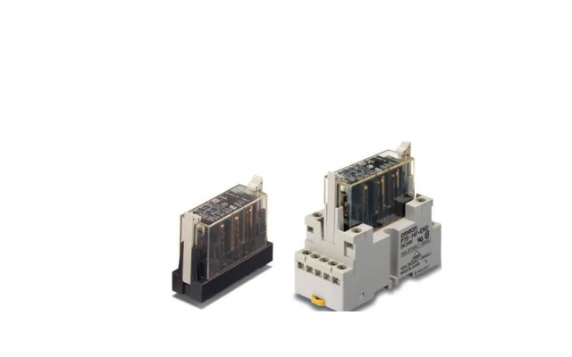 OMRON G7S-[]-E Relays with Forcibly Guided Contacts and High Switching Capacity of 10 A