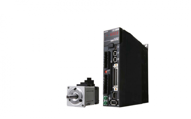 OMRON R88M-K, R88D-KN[]-ECT The G5 series has a direct connection to the NJ controller via EtherCAT.