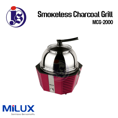 Milux Smokeless Charcoal Grill MCG-2000