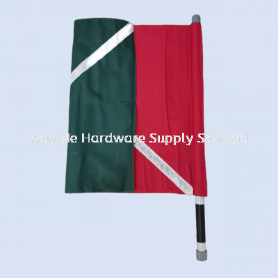 Traffic Flag with Reflective Tape (2 Color)