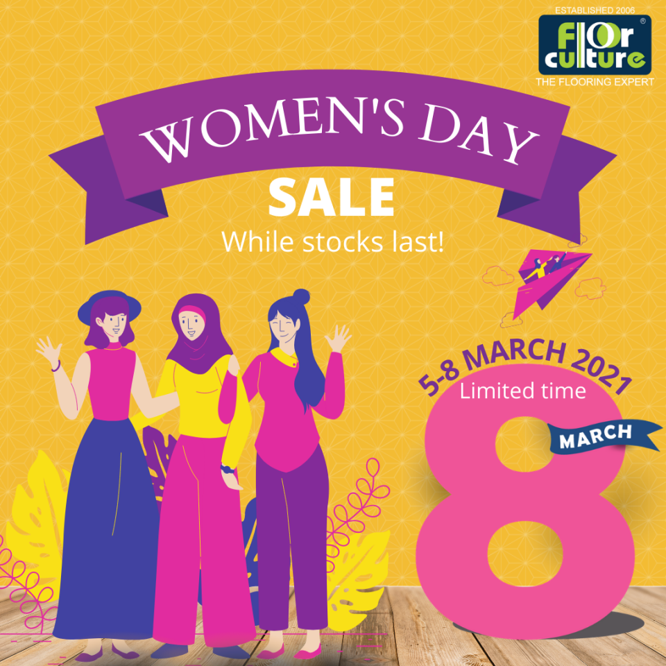 WOMEN'S DAY SALE 2021