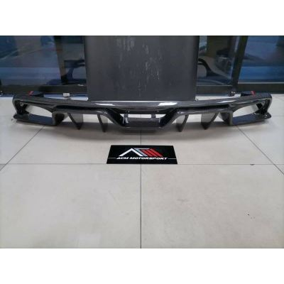 Ford mustang rear carbon diffuser PFL