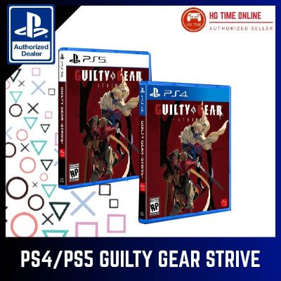 PS4 PS5 Guilty Gear Strive PRE ORDER *RELEASE 11 JUNE 2021* DEPOSIT ONLY