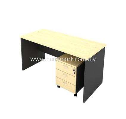 4 FEET OFFICE TABLE C/W MOBILE PEDESTAL 3D - Bukit Damansara | Bangsar | KL Eco City