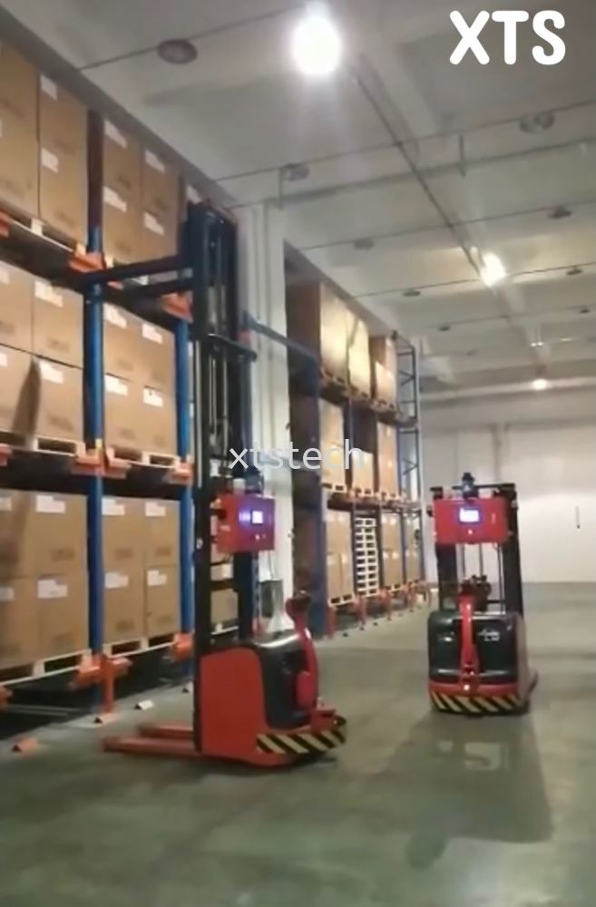 Automated Guided Forklift (AGF) By Laser Navigation