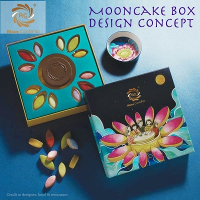 Square Mooncake Box